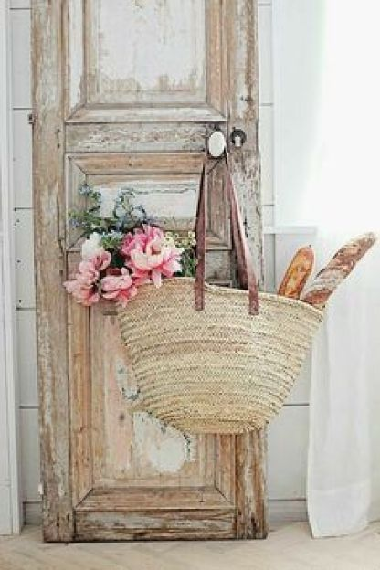 Door With Market Bag