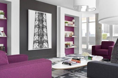 Fuchsia Bookcase