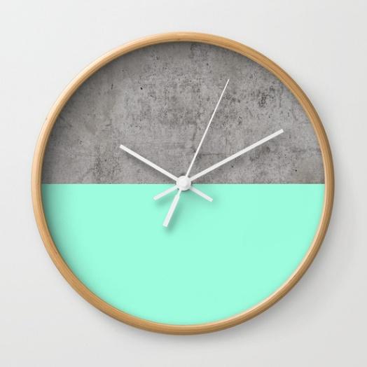 Society 6 Wall Clock